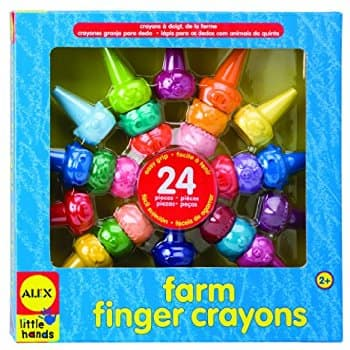 ALEX Toys Little Hands Farm Finger Crayons $6.35 @Amazon *Add-On or Alexa (Free Ship)
