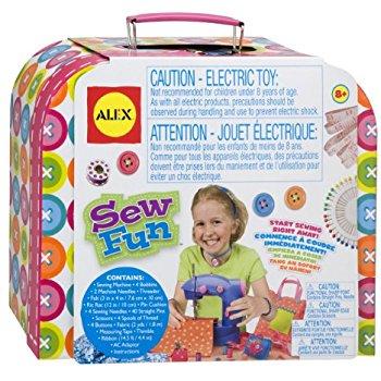 ALEX Toys Craft Sew Fun Craft Kit w/Sewing Machine $18.25 (List $88.00) @Amazon
