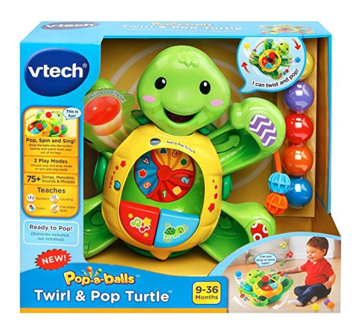 VTech Pop-a-Balls Twirl & Pop Turtle $10.61 @Amazon