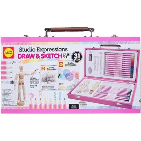 ALEX Art Studio Expressions Drawing and Sketch Case Set $16.99 (was $42.49) @Walmart