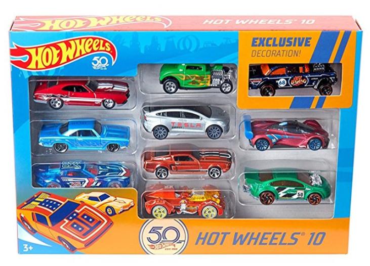 Hot Wheels Amazon 50th Anniversary Vehicles $12.99 *Pre-Order