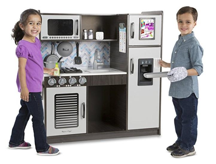 Melissa Amp Doug Wooden Pretend Play Toy Kitchen 123 26