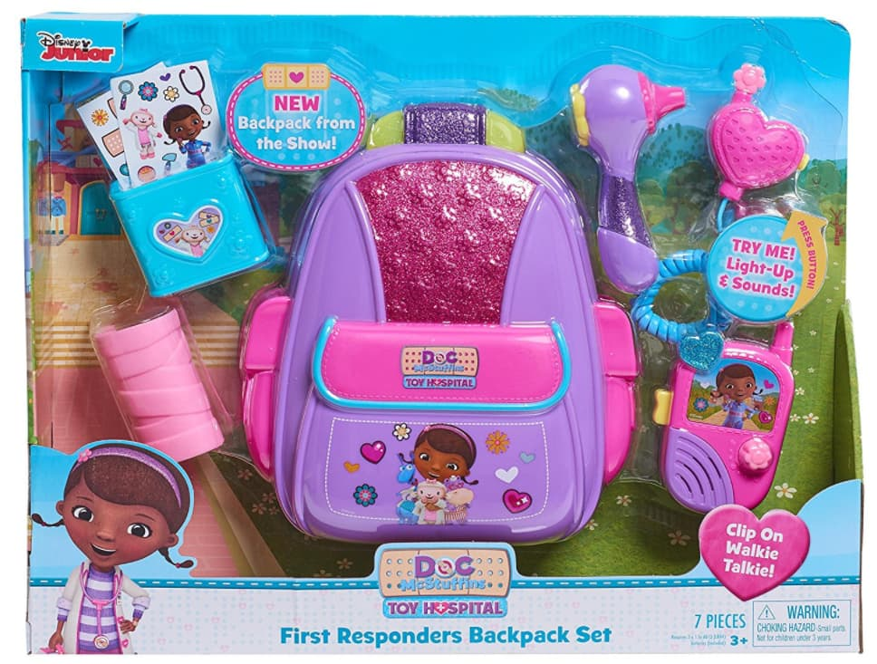 Doc McStuffins: Just Play First Responders Backpack Set $10.88 + More @Walmart, Amazon