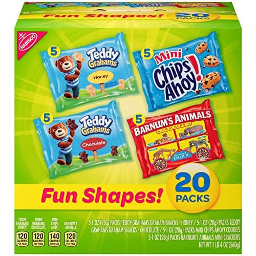 20-Count Box Nabisco Cookies & Teddy Grahams $6.63 5% or $5.93 15% w/SS *Add-On  + Free Shipping