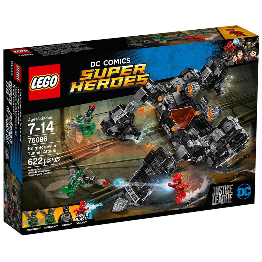 622-Piece LEGO Super Heroes Knightcrawler Tunnel Attack Set $33 @Target