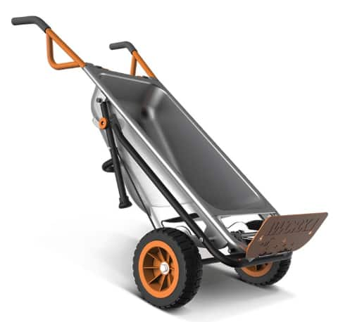 WG050 WORX AeroCart: 8-in-1 Multi-Function WheelBarrow Yard Cart $93.49 AC + Free Shipping @eBay