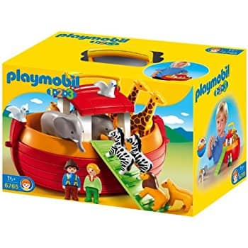 PLAYMOBIL 1.2.3 My Take Along Noah´s Ark $18.99, Christmas Manger $17.11 @Amazon or Walmart