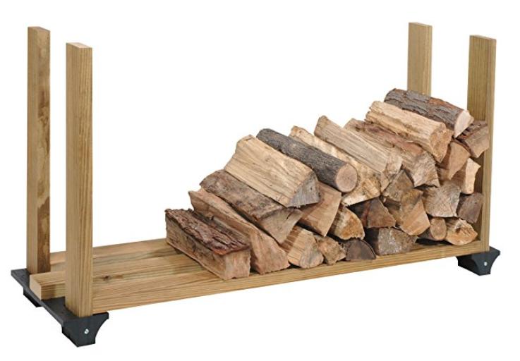 Hopkins 90144 2x4 Basics Firewood Rack System, Black $5.21 Walmart or (Amazon *Add-On +Free Shipping)
