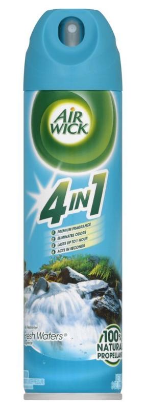12-Count Air Wick Aerosol Spray Air Freshener (Fresh Waters) $9.28 @Amazon
