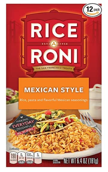 12-Count Rice a Roni Mexican Style $9.43 / $8.12 AC S&S *Prime Exclusive