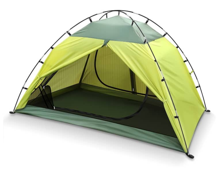 INTEY 2 Person Waterproof Tent 2 Doors for Camping, Hiking w/Portable Pack $19.83 AC @Amazon