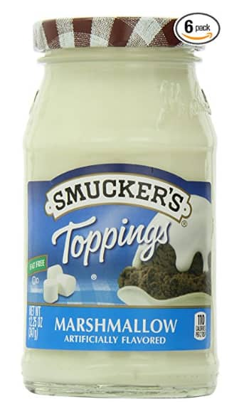 6-Count Smucker's Hot Fudge, Pineapple, Marshmallow or Strawberry Toppings $11.29 or $10.10 w/SS