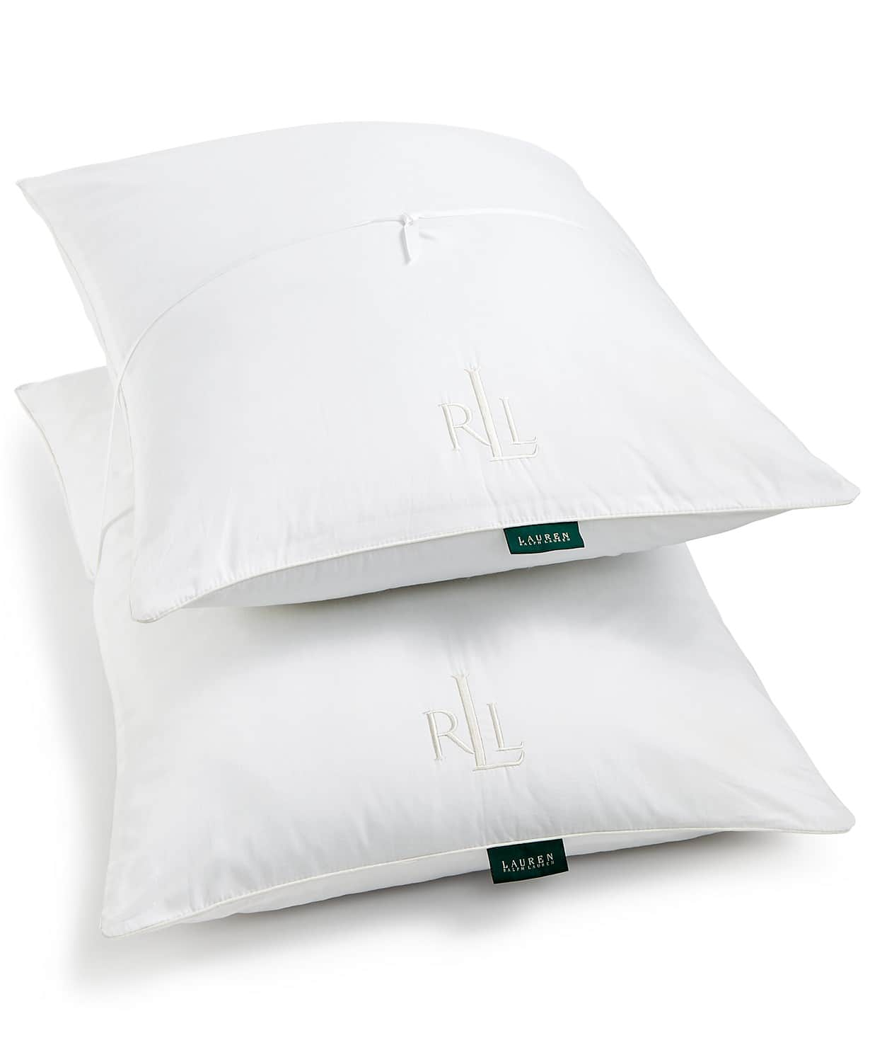 2-Pack Lauren Ralph Lauren Liteloft Down Alternative Jumbo Pillows $9.58 - Macy's