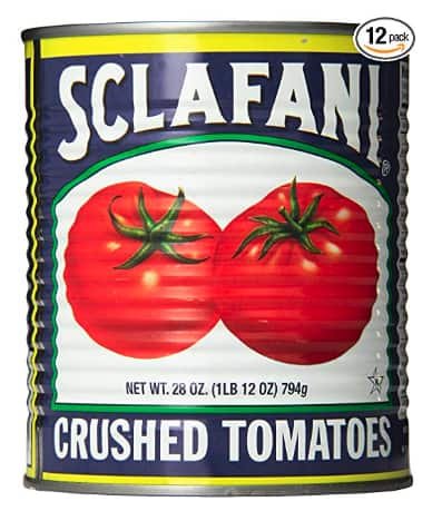 12-Count Sclafani Crushed Tomatoes (28 Ounce) $17.56 As Low As $15.71 w/S&S *Prime Exclusive