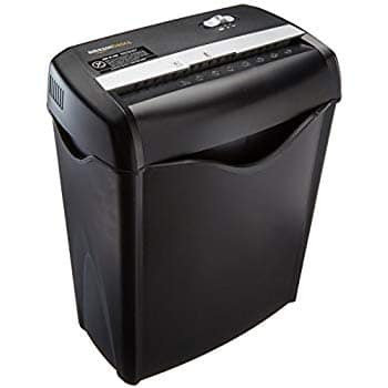 AmazonBasics 6-Sheet Cross-Cut Paper and Credit Card Shredder $23.74 *Prime Exclusive