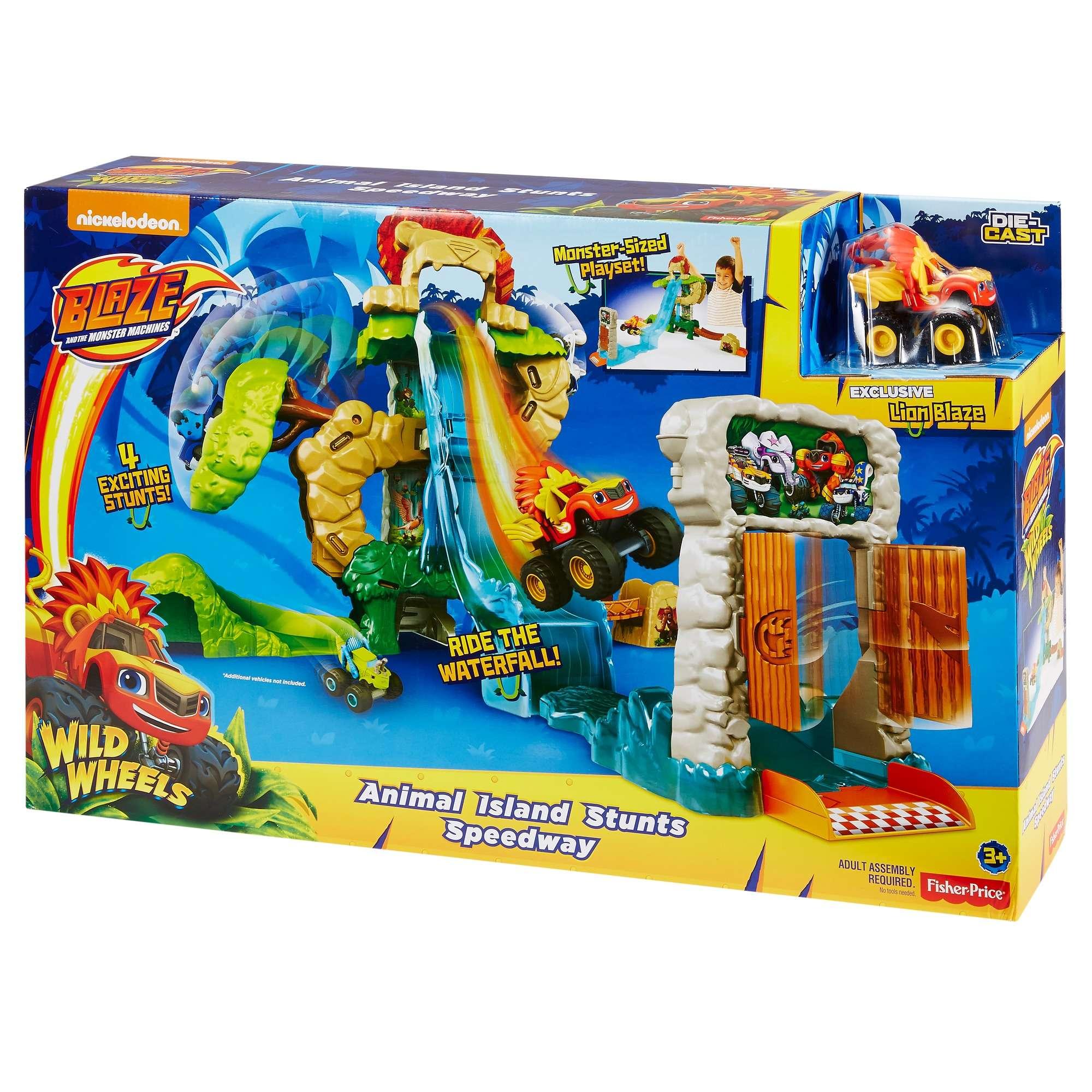 Nickelodeon Blaze and the Monster Machines, Animal Island Stunts Speedway Google Express $10.00 /  $13.50 Walmart