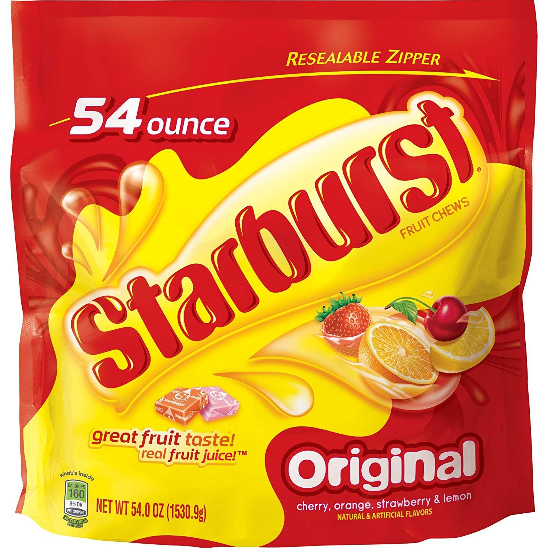 54-Oz Starburst Original Big Bag $7.50 w/S&S *Add-On  / Jolly Rancher 5 Pound Bag $9.56 AC