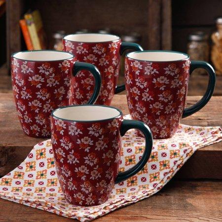 The Pioneer Woman 4-pack Fall Flowers 26oz. Latte Mug Set (Jumbo) $10.88 ($10.52 Pickup) Walmart