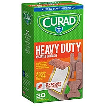 30-Count Curad Extreme Hold Bandages, Asst. Sizes $2.49 s&s *Add On