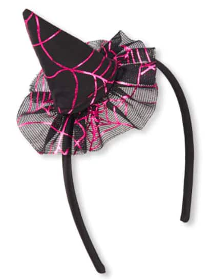 Headbands: Girls Witch Hat, Rose Gold Rhinestud and More $2.78 +Free Shipping