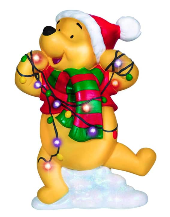 Disney Showcase Collection, Winnie The Pooh, Resin Plaque, LED $3.75 *Add On