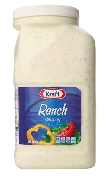 Prime Members: 1-Gallon Kraft Ranch Dressing $8.19 or $7.17 AC w/s&s + Free Shipping