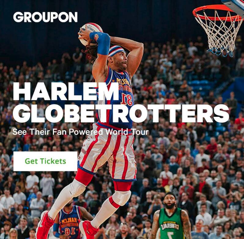 Los Angeles:  Harlem Globetrotters Game on February 17 Staples Center (40% Off from $40) - Groupon