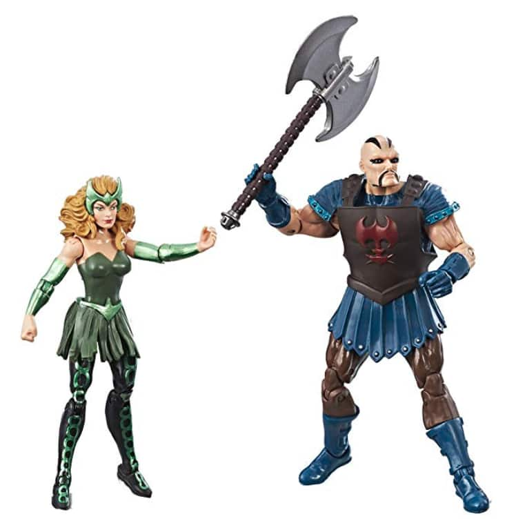 2-Pack Marvel Legends 3.75-inch Marvel's Enchantress & Executioner $3.89 Amazon *Add On