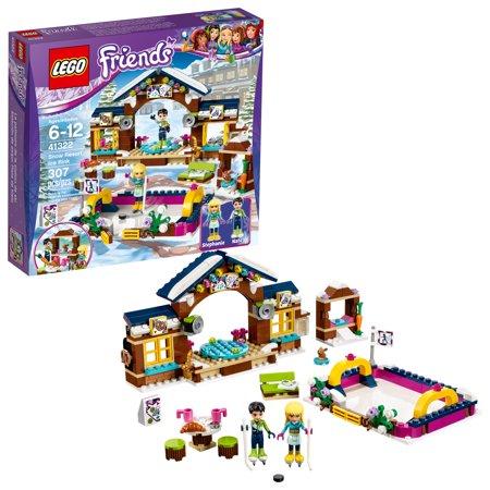 307-Piece LEGO Friends Snow Resort Ice Rink Building Kit (41322) $18.99 - Walmart / Amazon / Target
