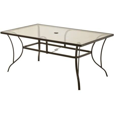 Mainstays Bristol Springs Outdoor Dining Patio Table 44