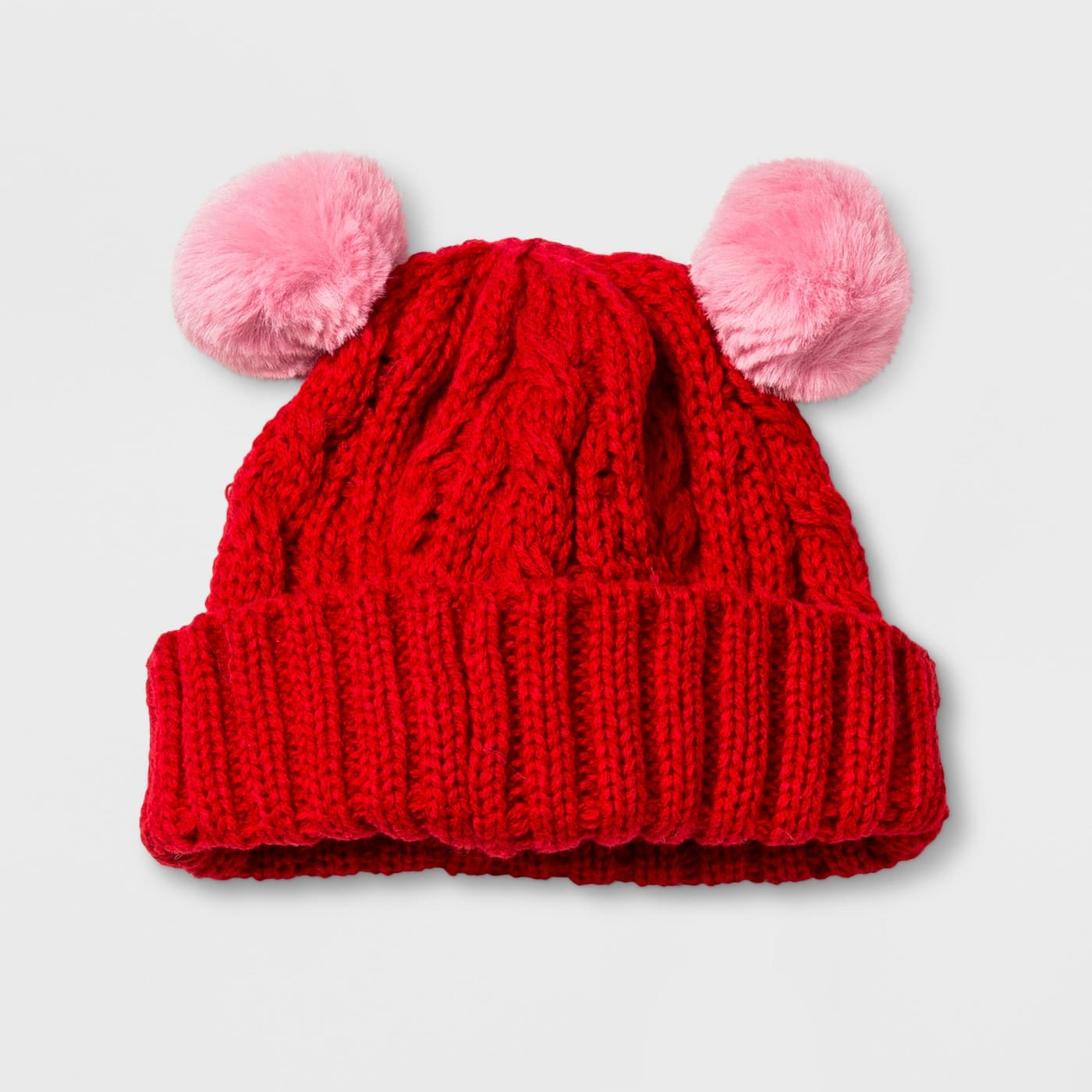 Cat   Jack Baby Cable Beanie with Poms  3.79 w Red Card - Target - Free  Shipping 71578ee18bf