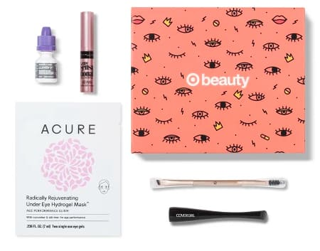 Target Beauty Box October Eye $4.75 w/Red Card +Free Shipping