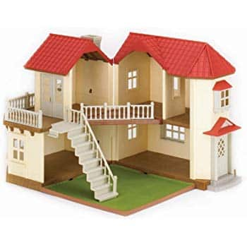 051c6e070a87 Calico Critters Red Roof Country Home Dollhouse - Slickdeals.net