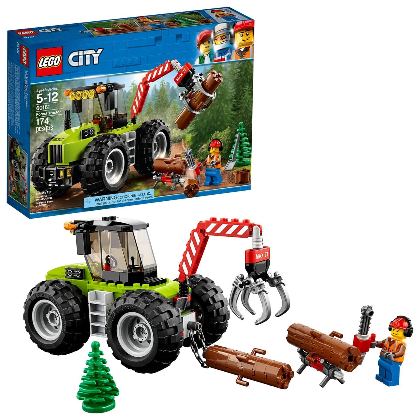 LEGO City Forest Tractor 60181, Ambulance Helicopter 60179 $15.19 w/Red Card @Target