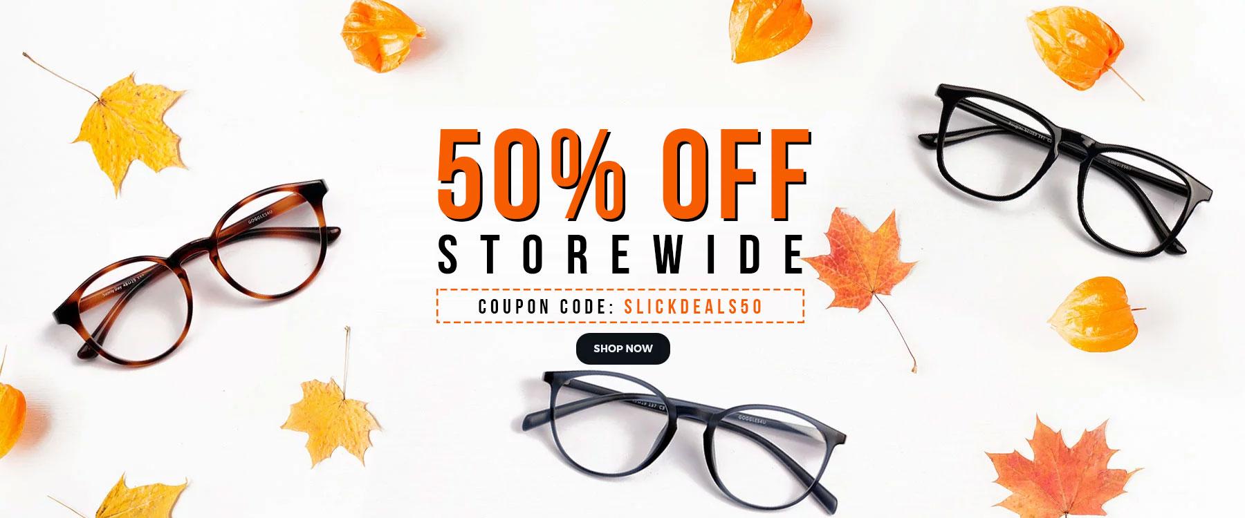 384fdf13ac 50% OFF on Prescription Eyeglasses   Sunglasses by Goggles4u ...