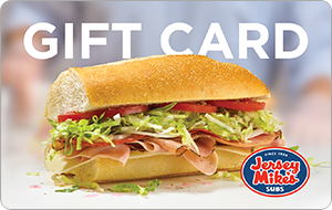 Buy a $25 Jersey Mike's Gift Card for only $20 -eGifter.com