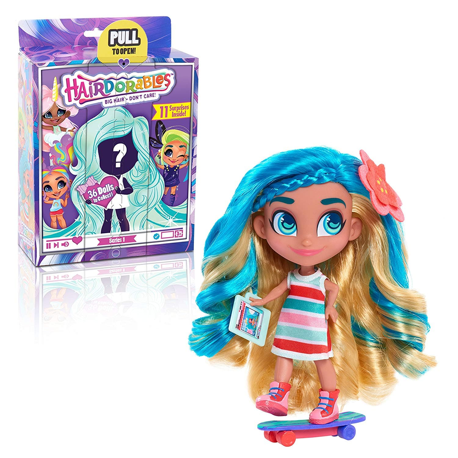Hairdorables ‐ Collectible Surprise Dolls and Accessories: Series 1 $9.88 - Walmart / Amazon