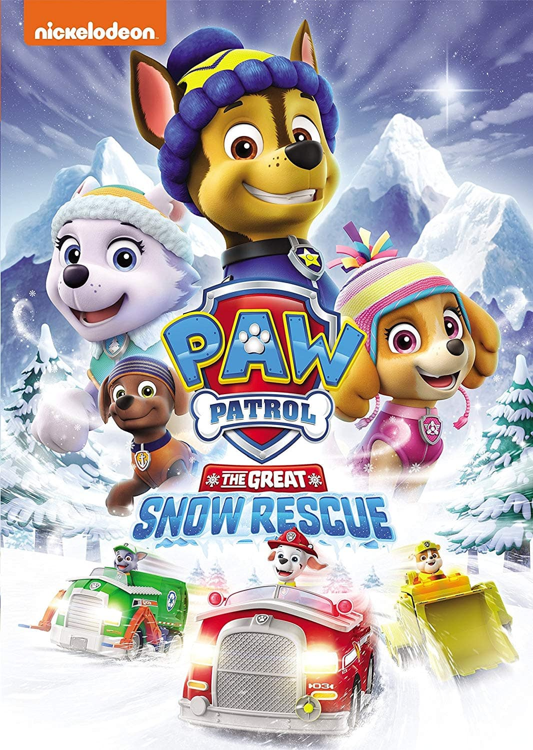 Pups Save Christmas.Paw Patrol The Great Snow Rescue Dvd 7 00 Pups Save