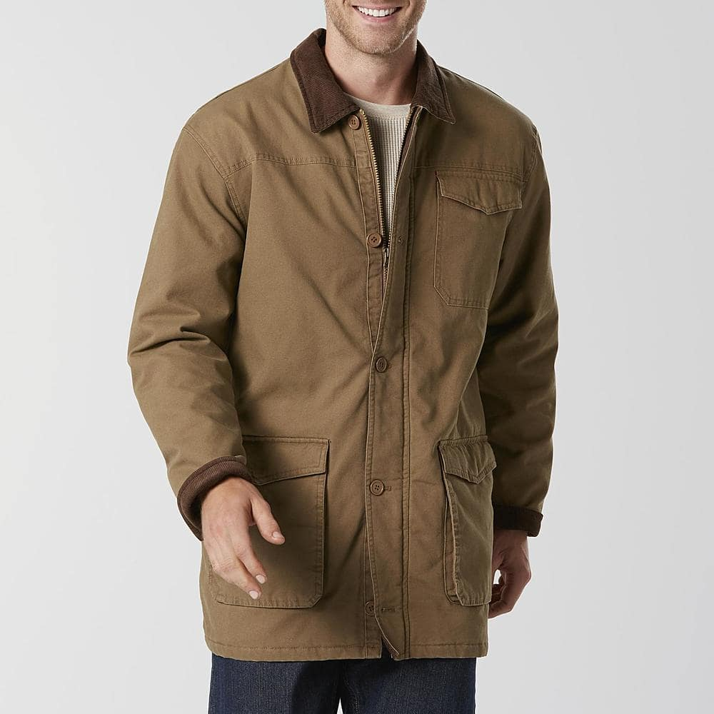 1f3bd61a428 Outdoor Life  Men s Canvas Shirt or Hooded Jacket  36.99 - Sears - Free  Store PU