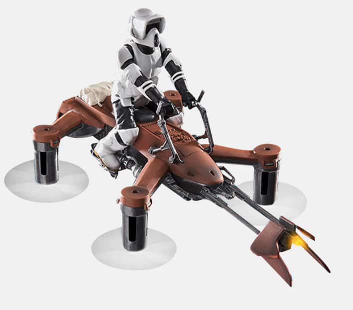 Star Wars Propel Quadcopters (74-Z Speeder Bike, Tie Advanced X1 or T-65 X-Wing Star Fighter)  $39.99 - Massdrop +Free Shipping