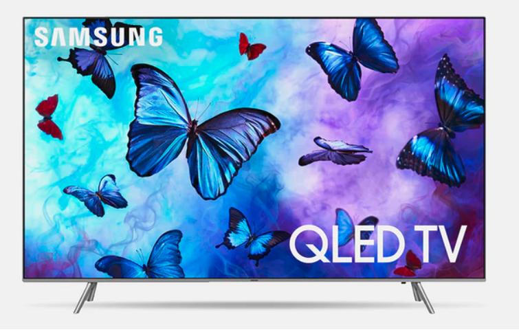 "Samsung 82"" Class (QN82Q6FNAFXZA) QLED Smart 4K UHD TV (2018) $2529.99 - Free Shipping"