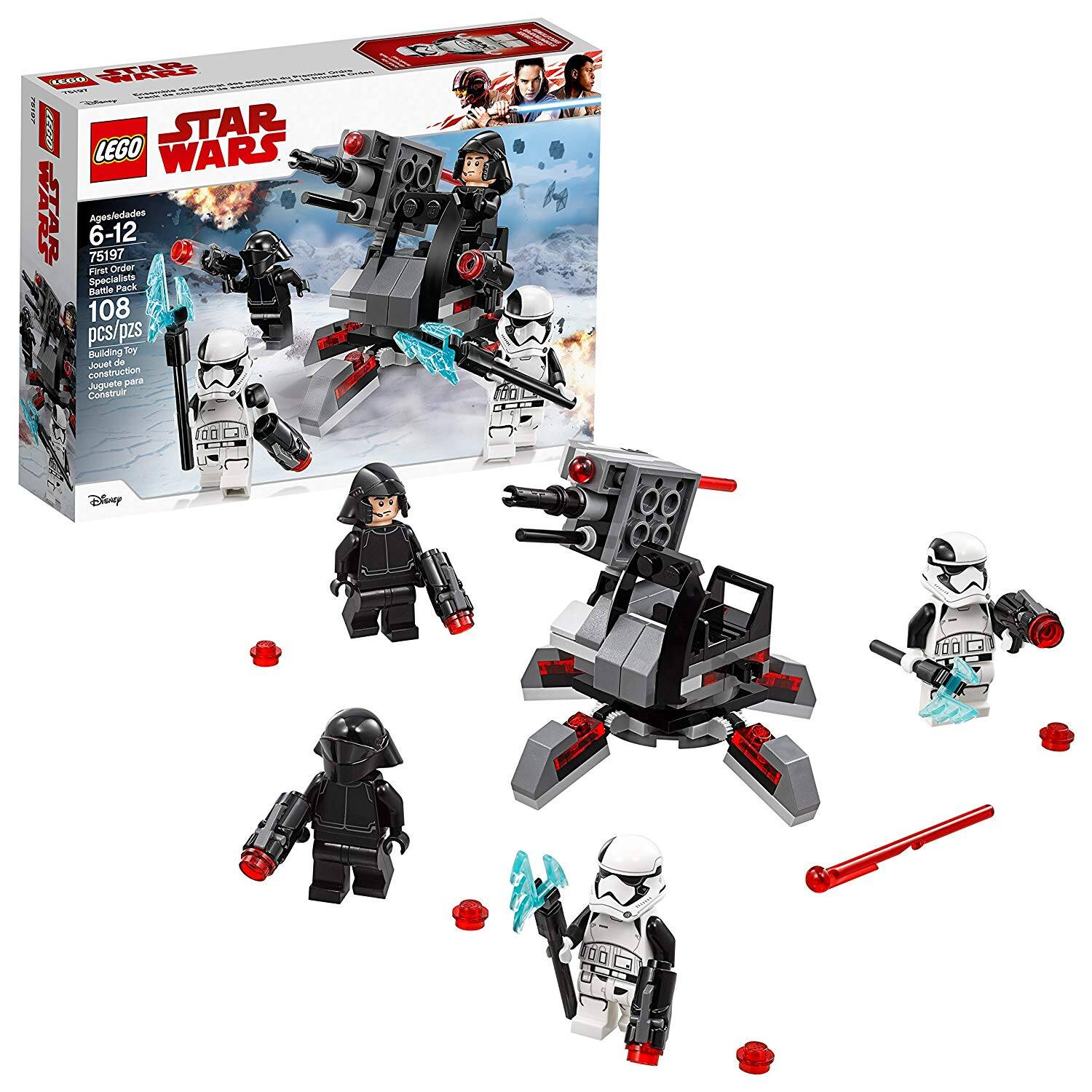 Pack Last Specialists Battle Jedi Lego Star First WarsThe Order CxrodBe