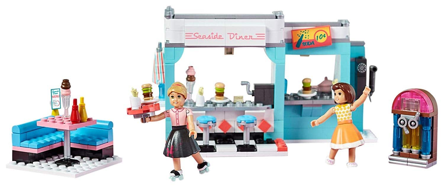 Mega Construx American Girl Maryellen's Seaside Diner Building Set