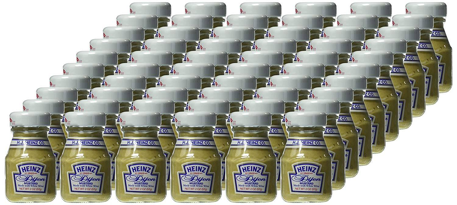 200 Count Heinz Jelly/Jam Variety Pack (Grape, Strawberry, Apple) 0.5 oz. $17.59 5% or $15.39 15% & More AC w/s&s