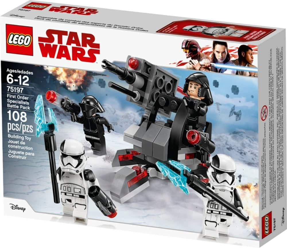 LEGO - Star Wars First Order Specialists Battle Pack 75197 $7.99 & More - Best Buy (Free Store Pick UP)
