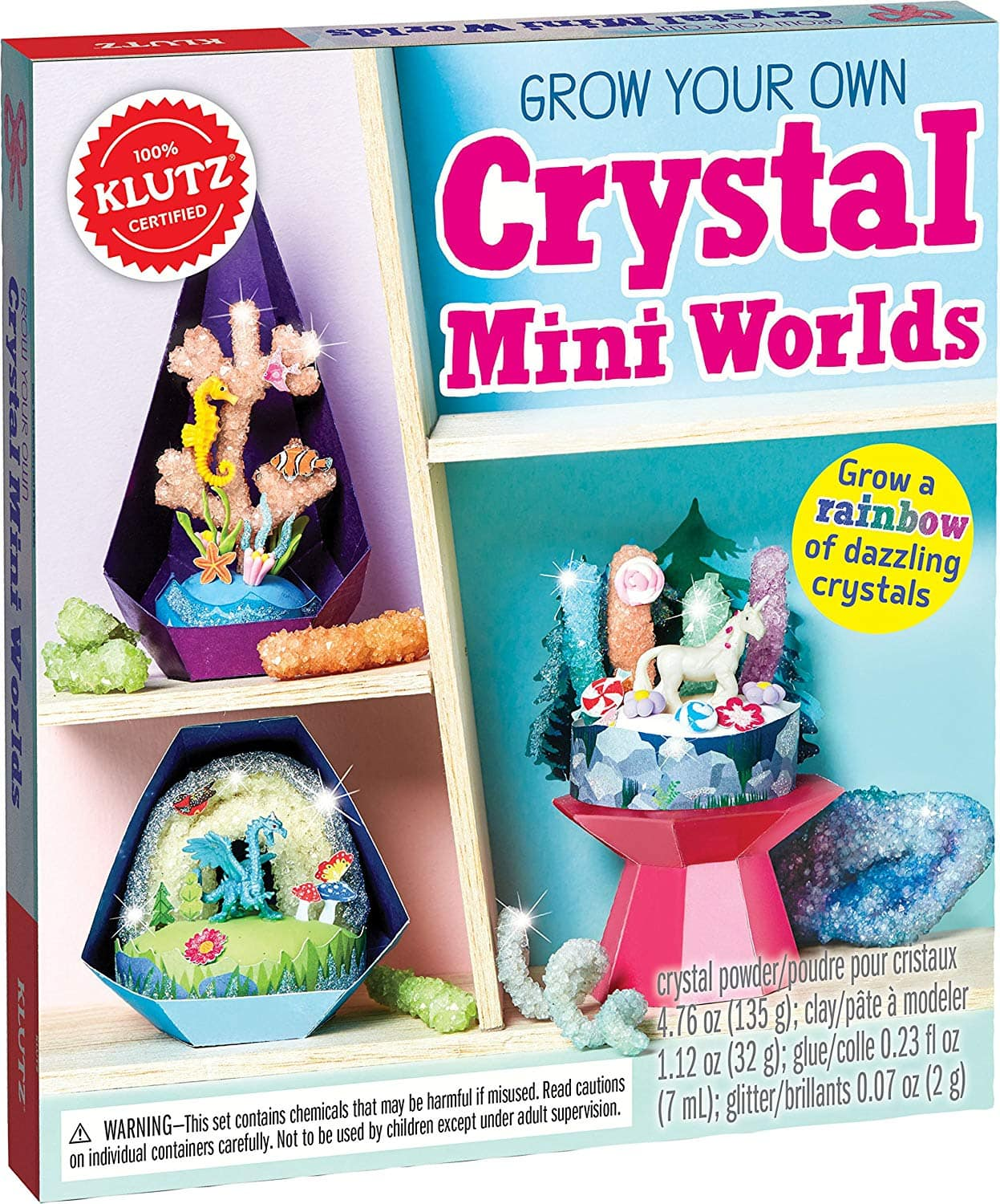 Klutz Grow Your Own Crystal Mini Worlds $7.45 - Amazon *Add On