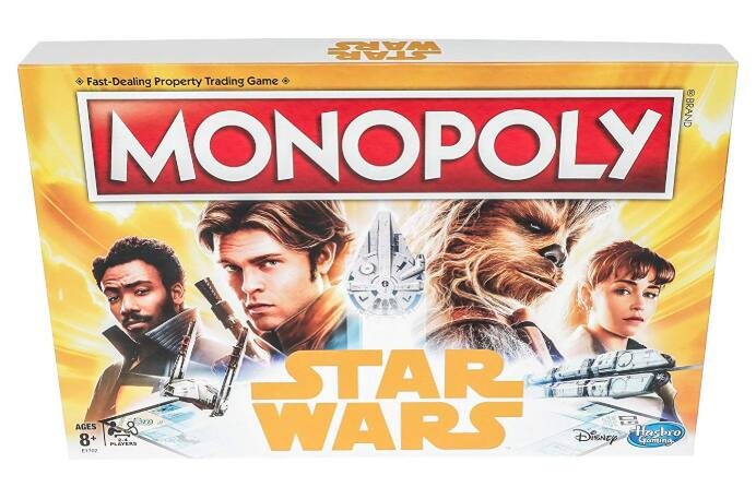 Monopoly Game: Star Wars - Han Solo Edition $11.99 - Walmart / Amazon