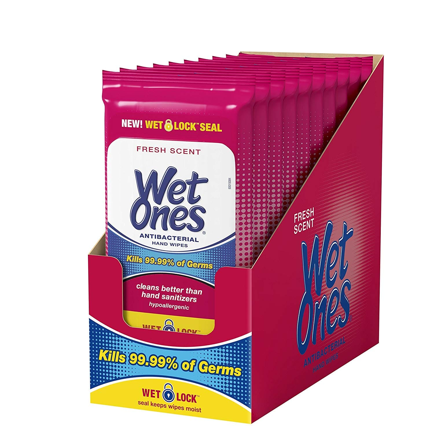10-Pack of 20-Count Wet Ones Antibacterial Hand Wipes $12.15 5% or $10.65 15% AC w/s&s