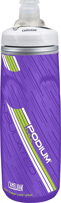 CamelBak Podium Chill 21oz Insulated Water Bottle (Prime Purple) $4.96 - Amazon