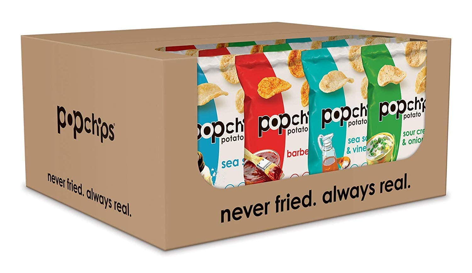 24-Count Popchips Potato Chips, Variety Pack $10.63 5% or $7.27 w/30% Everyday